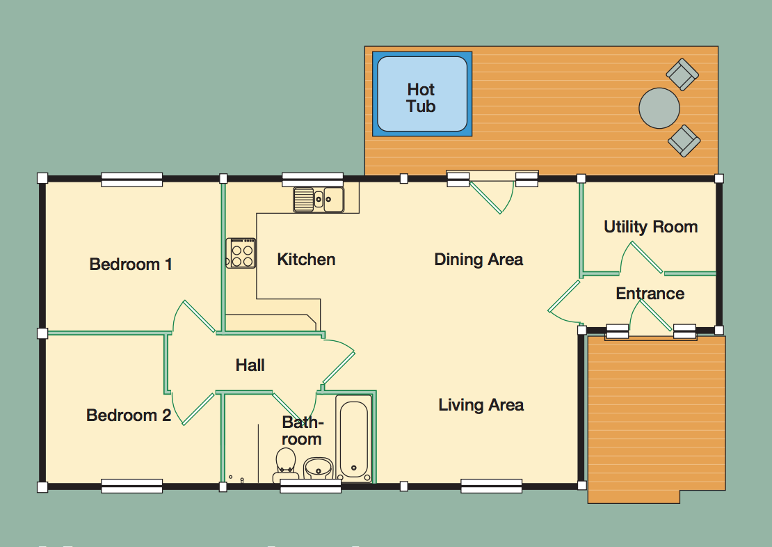 View the Keepers Lodge floorplan